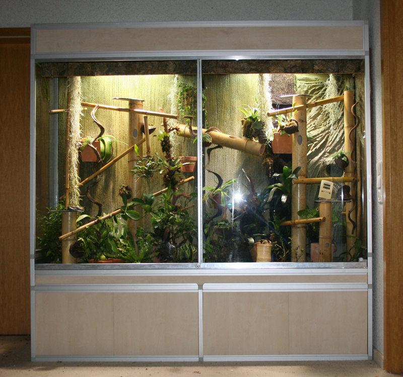 marinesystems terrarium 190x55x190cm incl unterschrank marinesystems. Black Bedroom Furniture Sets. Home Design Ideas