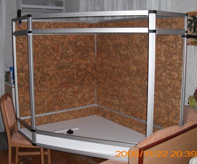 marinesystems terrarium delta 150x120x140cm marinesystems. Black Bedroom Furniture Sets. Home Design Ideas